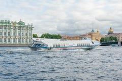 Hydroptère de Kometa Images libres de droits