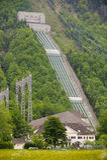 Hydrostation des elektrischen Stroms im Bayern lizenzfreies stockfoto