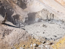 Hydrothermal feature, Lassen Volcanic National Park Royalty Free Stock Photography