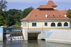 Hydrotriebwerkanlage Lizenzfreies Stockfoto