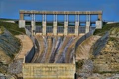Hydroverdammung Lizenzfreies Stockbild