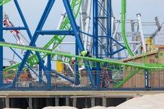 Hydrus Roller Coaster Stock Photo