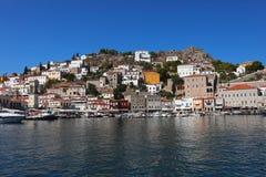 Hydry wyspa Grecja obraz royalty free