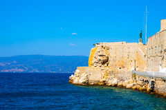 Hydry wyspa Grecja w saronikos Zdjęcia Stock
