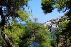 Hydry wyspa w Grecja, Saronic morze egejskie zatoka zdjęcie royalty free