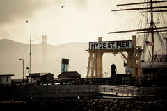 Hyds St Pier Royalty Free Stock Images