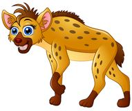 Hyena cartoon standing Royalty Free Stock Photography