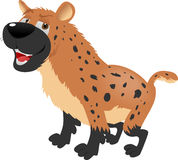Hyena sitting Stock Photography