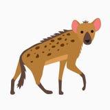 Hyenan är en tecknad film Fotografering för Bildbyråer
