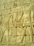 Hyeroglyph. S in the temple of ramesseum in luxor Stock Images