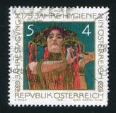 Hygeia by Gustav Klimt Stock Image
