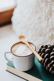 Hygge time stock photography