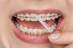 Hygiène buccale Photo libre de droits