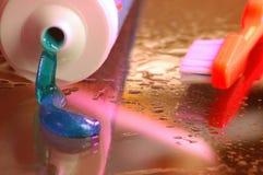 Hygiène buccale Photographie stock libre de droits