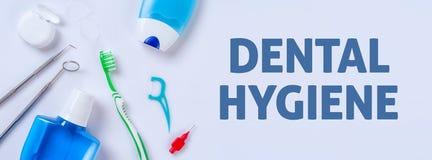 Hygiène dentaire Images libres de droits