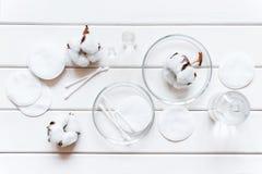 Hygiënische producten voor dagelijkse lichaamsverzorging Stock Afbeeldingen