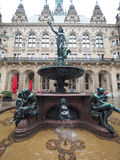 Hygieia Fountain in Hamburg Stock Images
