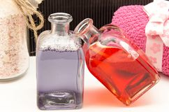 Hygiene and beauty Stock Images