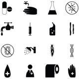 Hygiene icon set. The hygiene of icon set vector illustration