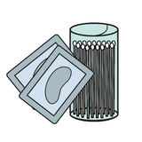 Hygiene icons Royalty Free Stock Photo