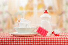Hygiene kitchen cleanser royalty free stock photo