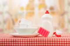 Hygiene kitchen cleanser Royalty Free Stock Photo