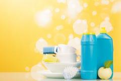 Hygiene kitchen cleanser Stock Photo