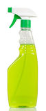 Hygiene liquid cleanser. In bottle isolated on white background Stock Photos