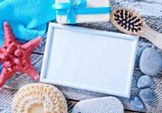 Hygiene objects Stock Image