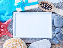 Hygiene objects Stock Photo