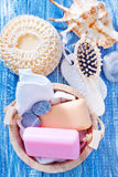 Hygiene objects Royalty Free Stock Photo