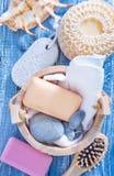 Hygiene objects Royalty Free Stock Photos