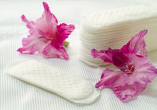 Hygiene pad Royalty Free Stock Photo