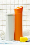 Hygiene products for you. Hygiene products as necessary and good for you royalty free stock photos