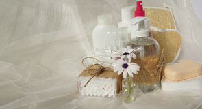 Hygiene set for an adult Stock Photo