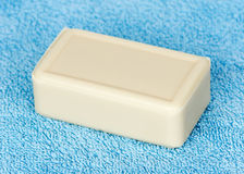 Hygiene soap closeup Royalty Free Stock Images