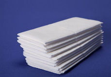 Hygiene tissue Royalty Free Stock Photos