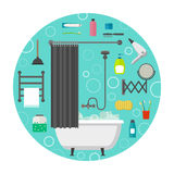 Hygiene vector icons Royalty Free Stock Image