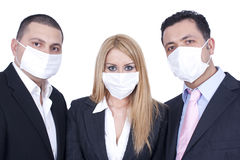 Hygienic masks Stock Photos