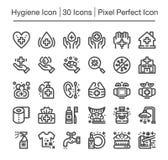 Hygiensymbol Royaltyfri Bild