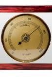 Hygrometer, getrennt lizenzfreie stockfotografie