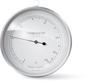 hygrometer Royalty Free Stock Photo