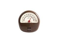 Hygrometer isolated Stock Photo