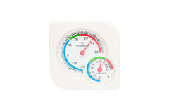 Hygrometer, thermometer all in one Stock Photos