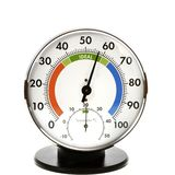 Hygrometer and Thermometer Stock Image