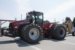 Hylok Farms Case STX500 Tractor close up at parade Stock Image