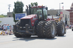 Hylok Farms Case STX500 Tractor at parade Royalty Free Stock Images