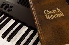 hymnal klawiatura Zdjęcia Royalty Free