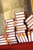 Hymnals e libri di preghiera Fotografia Stock Libera da Diritti