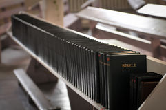 Hymnals and prayer books Stock Photos